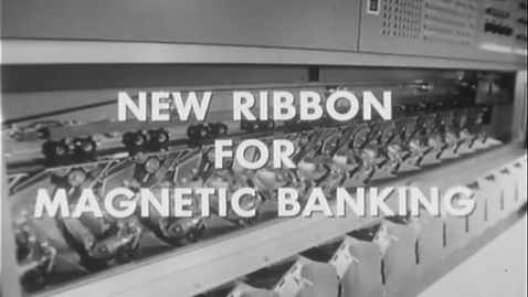 New Ribbon for Magnetic Banking (78-013)