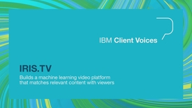 Thumbnail for entry IRIS.TV builds a machine learning video platform that matches relevant content with viewers