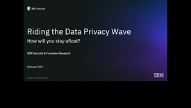 Thumbnail for entry Riding the Data Privacy Wave: How Will You Stay Afloat?