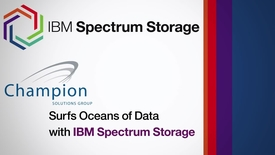 Thumbnail for entry Champion surfs oceans of data with IBM Spectrum Storage