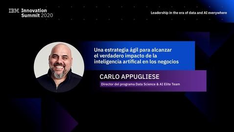 Thumbnail for entry #IBMSummitPeru | Una estrategia ágil para alcanzar el verdadero impacto de la inteligencia artificial en los negocios