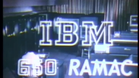 Thumbnail for entry (1956)  IBM 650 RAMAC - IBM Archives (VTI AK49)