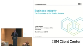 Thumbnail for entry IBM Integrity Summit 2018 - Leon Delissen