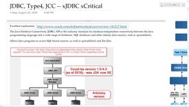 Thumbnail for entry Database: JDBC: Java DataBase Connectivity