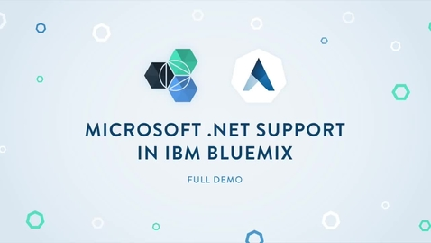 Thumbnail for entry Activating IBM Watson in .NET Applications with Apprenda