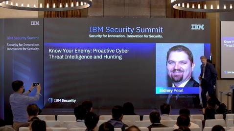 Thumbnail for entry 07 Know Your Enemy- Proactive Cyber Threat Intelligence and Hunting_Sidney Pearl (1)