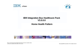 Thumbnail for entry Home Health pattern