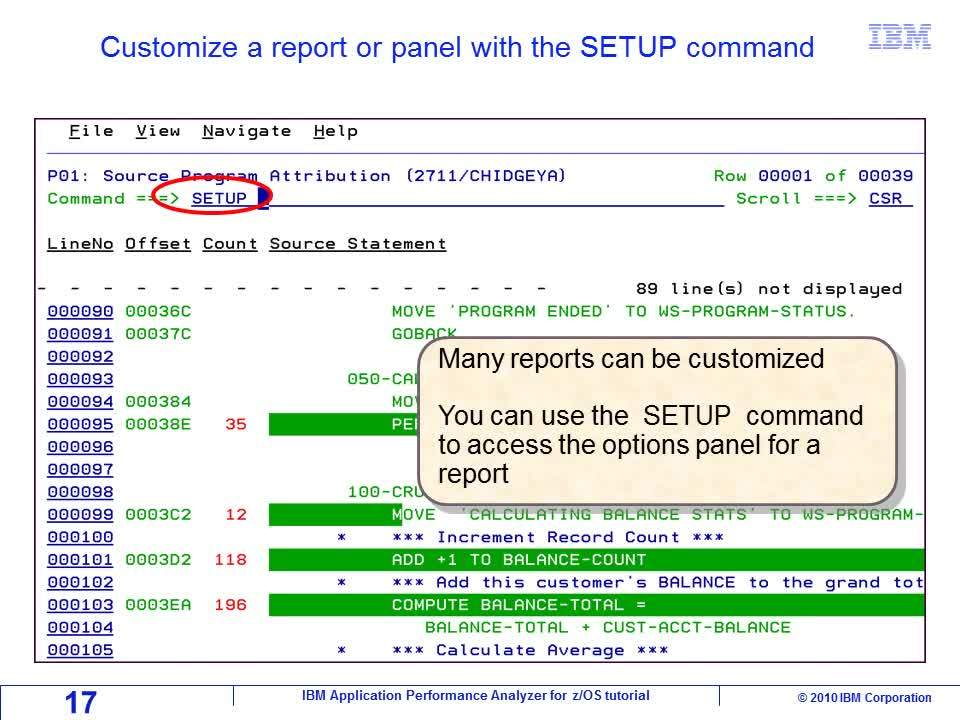 Chapter 04: Viewing analysis reports - IBM MediaCenter