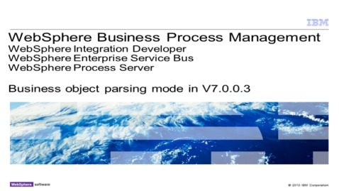 Thumbnail for entry Business object parsing mode in 7.0.0.3