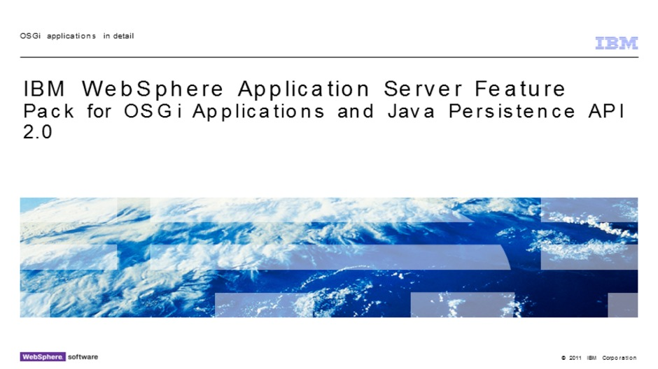 Osgi applications in detail ibm mediacenter video thumbnail for osgi applications in detail malvernweather Images