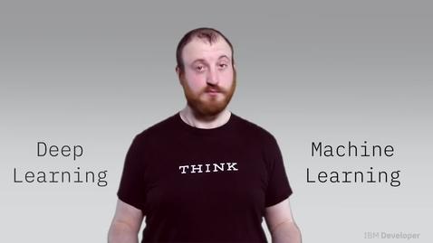 Thumbnail for entry 什么是深度学习和机器学习之间的区别?