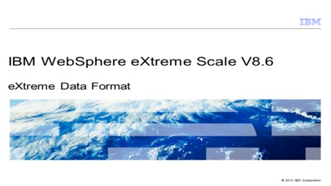 Thumbnail for entry eXtreme Data Format