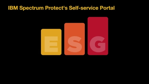 Thumbnail for entry Lab Video Summary - IBM Data Protection For Virtual Environments