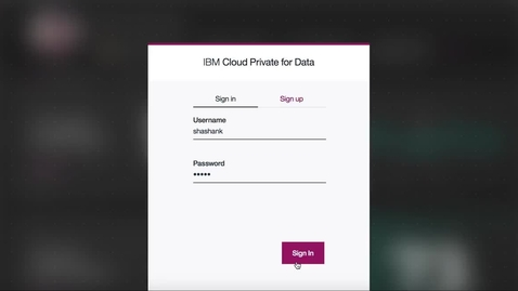 Thumbnail for entry IBM Cloud Pak for Data( IBM Cloud Private for Data)的快速产品介绍