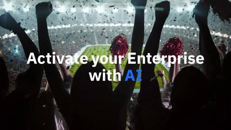 Thumbnail for entry IBM Watson Studio & Machine Learning Intro video (short)