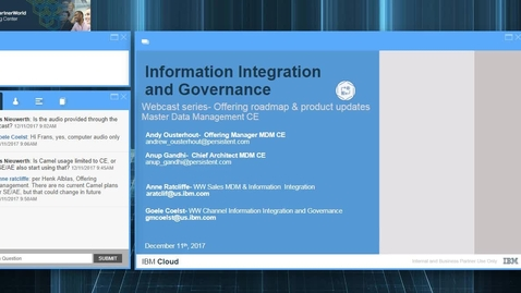 Thumbnail for entry MDM CE, roadmap & Strategy Webcast