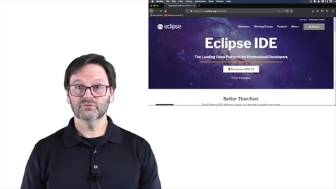 Thumbnail for entry Java 编程入门 - 安装和配置 Eclipse IDE