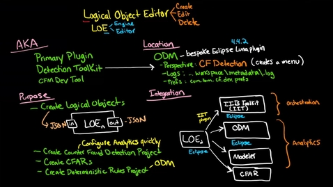 Thumbnail for entry Business Object Editor -- BOE (formerly Logical Objects Editor --LOE) - Introduction