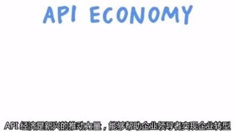 Thumbnail for entry API 经济概述