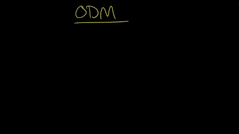 Thumbnail for entry ODM: IBM Services, your company, and modeling with XOM and BOM