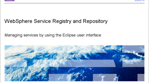 Thumbnail for entry Using the Eclipse user interface
