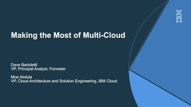 Thumbnail for entry Making the Most of Multi-Cloud