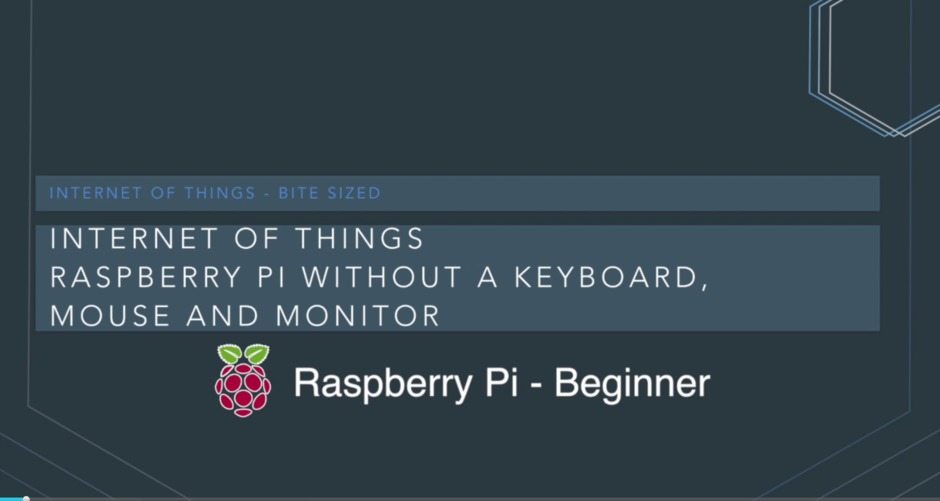 Working With A Raspberry Pi Without A Keyboard Mouse Or Monitor