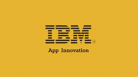 Thumbnail for entry App Innovation with IBM Brokerage Solutions (Japanese)