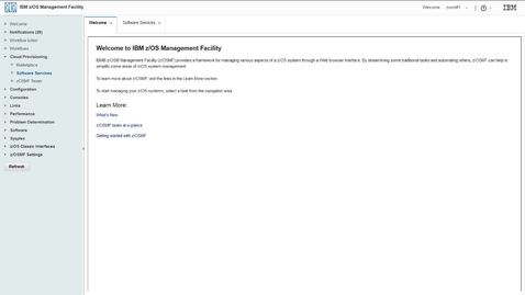 Thumbnail for entry How to set up a consumer in IBM Cloud Provisioning and Management for z/OS