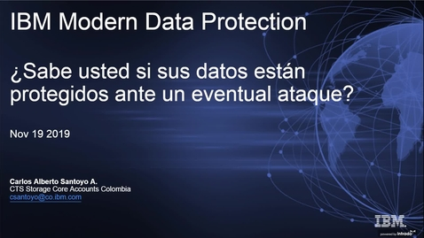 Thumbnail for entry Protección de datos moderna de IBM