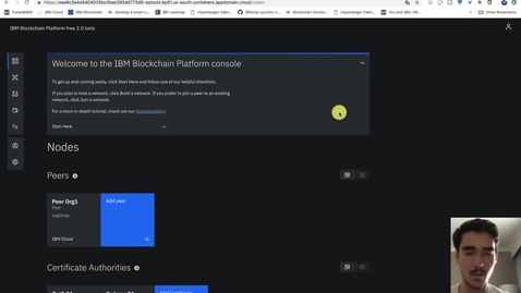 Thumbnail for entry IBM Blockchain Platform 教程 - 免费将应用程序连接到您的 Cloud Service