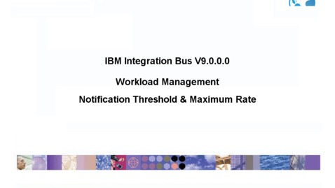 Thumbnail for entry Workload Management: Notification Threshold & Maximum Rate