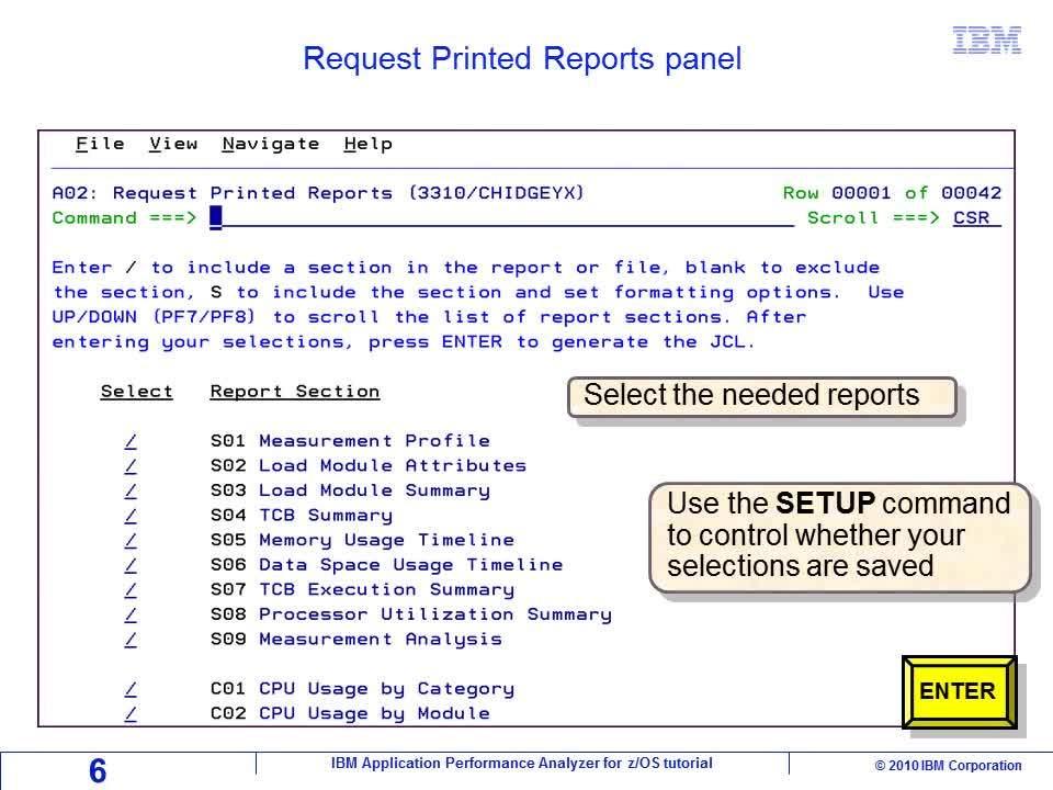 Chapter 06: Printing analysis reports - IBM MediaCenter