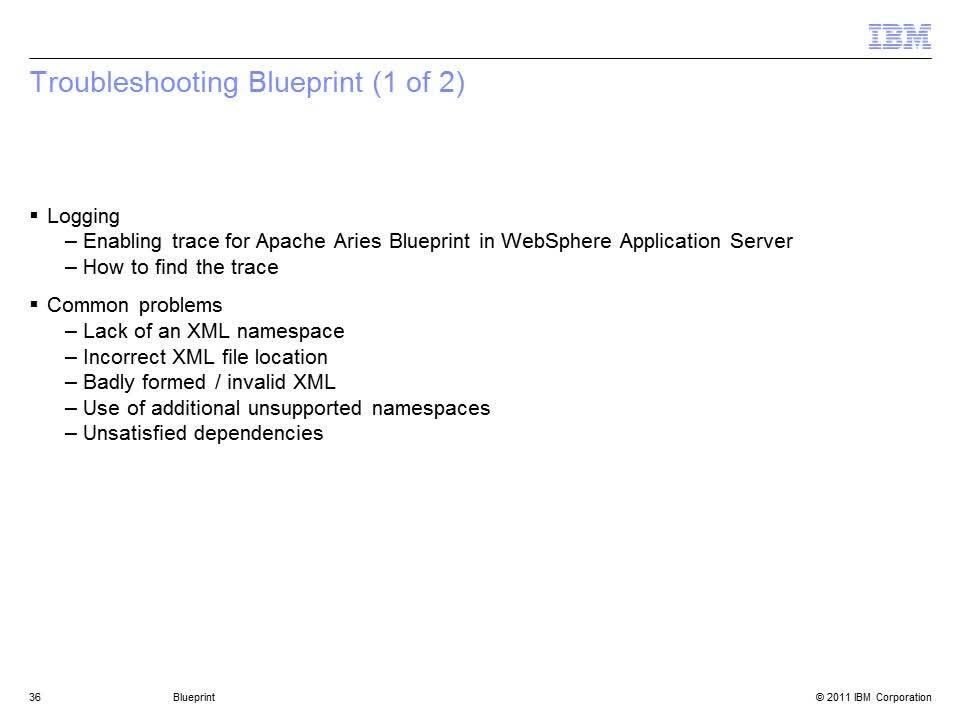 Osgi blueprint ibm mediacenter thumbnail for troubleshooting blueprint 2 of 2 malvernweather Image collections