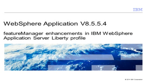 Thumbnail for entry featureManager enhancements