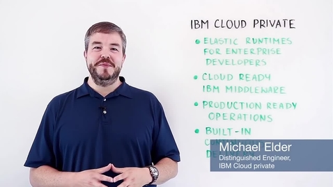 Thumbnail for entry IBM Cloud: Banking Solution Overview
