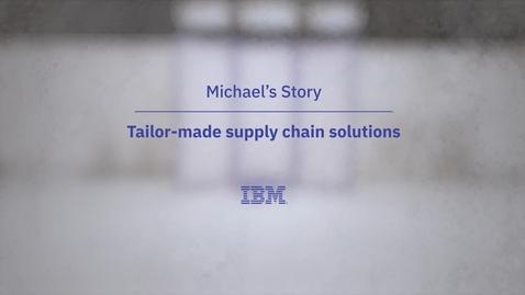 Thumbnail for entry O caso de Michael: soluções ajustáveis para a cadeia de suprimentos