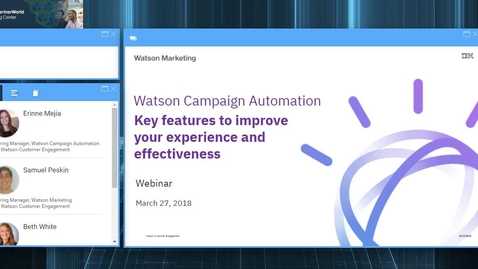 Improve Your Watson Campaign Automation Experience