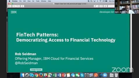 Thumbnail for entry Code Pattern:创建一个投资管理聊天机器人