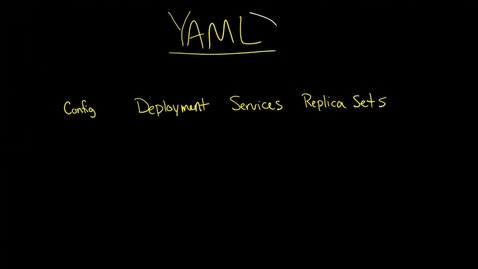 Thumbnail for entry Introduction to YAML: data types (scalar, sequence, mappings), nodes, documents, anchors