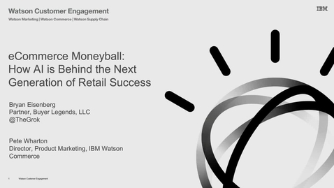 eCommerce Moneyball- How AI is Behind the Next Generation of Retail Success