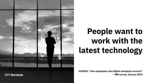 Thumbnail for entry Digital workplace trends: what tech people want now