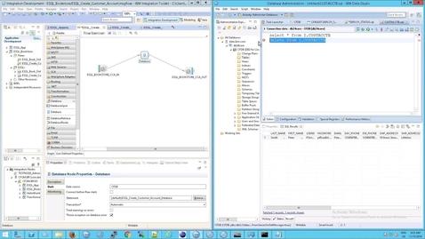 Thumbnail for entry IIB: MQ Queues and Flow Exerciser Output vs RFHUtil output