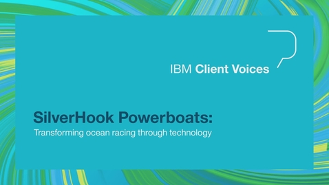 Thumbnail for entry SilverHook Powerboats: Transforming ocean racing through technology