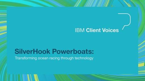 Thumbnail for entry SilverHook Powerboats: Transforming ocean racing through technology