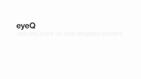 Thumbnail for entry eyeQ delivers point-of-sale targeted content with IBM Bluemix