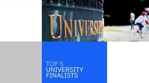 Thumbnail for entry 2020 Call for Code University Edition Finalists