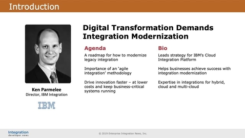 Thumbnail for entry Digital Transformation Demands Integration Modernization