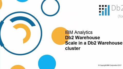 Thumbnail for entry Db2 Warehouse scale in