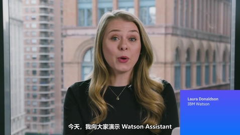 Watson Assistant 案例演示